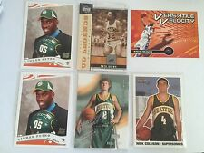 Seattle Supersonic Lot Petro Rookie Brown Ridnour Francis Basketball Card Topps