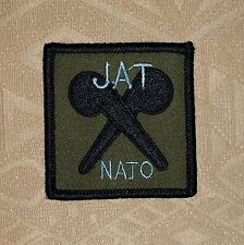 BRITISH NUCLEAR BIOLOGICAL CHEMICAL REGIMENT JAT- NATO PATCH- BADGE-BRITISH ARMY