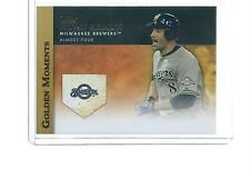 2012 TOPPS UPDATE BASEBALL GOLDEN MOMENTS RYAN BRAUN #GM-U25