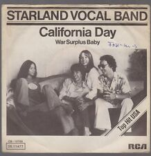 "7"" Starland Vocal Band California Day / War Surplus Baby 70`s RCA"