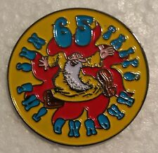 Smiling Mr. Natural 65 TRIPS AROUND THE SUN Lapel Pin