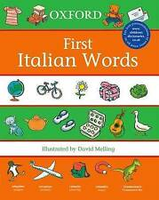 First Italian Words (First Words (Oxford)), , New Book