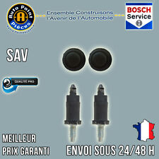 2 Vis et 2 Clips Cache Moteur HDI BOXER PARTNER EXPERT 3008 5008 806 807