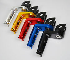BILLET ALUMINUM ADJUSTABLE FOOTPEGS FOOTRESTS REARSETS KAWASAKI (04-10) ZX10R