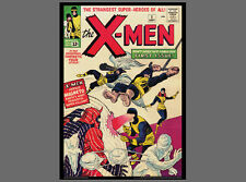POSTER: THE X-MEN #1 (Sept. 1963) Marvel Comics Cover Poster Vintage Reprint