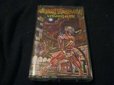 Iron Maiden Somewhere in Time Cassette Tape OUT OF PRINT  Capitol Records 1986