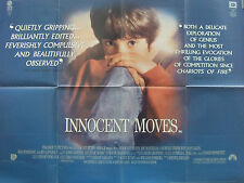 Joe Mantegna  Joan Allen  INNOCENT MOVES(1993) Original UK quad movie poster