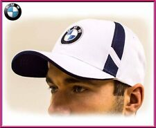 BMW unisex Baseball Cap Hat,100% cotton. White. Adjustable size with ///M logo