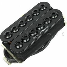 Seymour Duncan SH-8n Invader Neck Guitar Humbucker Hot Pickup - BLACK - NEW