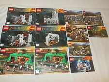 Lego-The Lord of the Rings/Hobbit - 9474 79003 79014 79004 79012 9469 79005