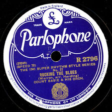 COUNT BASIE &  HIS ORCHESTRA  Rocking the Blues / It's square but... 78rpm  X553