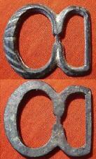 Bonita hebilla Medieval de Bronce. BONITA PATINA. Tamaño 31 x 27 Mm. Peso 5,10 g