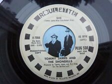 7'' Tommy James And The Shondells She On Roulette In VG (Psych)