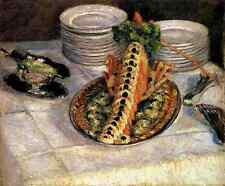 Caillebotte Gustave Still Life With Crayfish 5 A3 Box Canvas