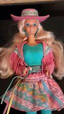 "Barbie"" western fun"" collection ancienne par Mattel"