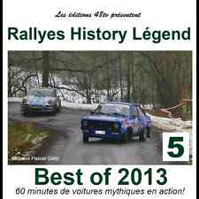 DVD Best of Historic Rallye 2013 Rally Legend Italien TOP Gr.B etc 60m 48TV