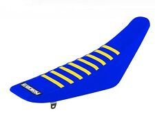 Suzuki RM 125 -  250 2001 - 2012 Blue-Blue-Yellow made by Enjoy Seat Cover