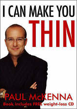 PAUL McKENNA - I CAN MAKE YOU THIN PB BOOK INCL WEIGHT LOSS CD