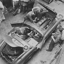 Ferrari 340 America – Chinetti & Lucas - 24 hours of Le Mans - 1952 - car race