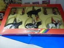 Britains 7218 Her Majesty, Queen Elizabeth, Hand Painted Diecast 8 Piece 1:32