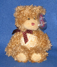 TY BEARY MUCH the BEAR BEANIE BABY - MINT with MINT TAG