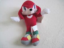"""Toy Network SONIC THE HEDGEHOG KNUCKLES 9"""" Character Plush Doll"""