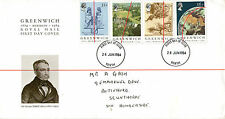 26 JUNE 1984 GREENWICH MERIDIAN ROYAL MAIL FIRST DAY COVER PERTH FDI