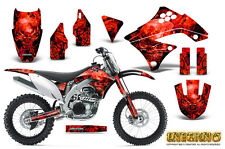 KAWASAKI KXF450 KX450F 09-11 GRAPHICS KIT CREATORX DECALS INFERNO R