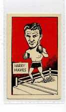 (Jw961-100) Cummings,Famous Fighters Swop Card,Harry Hughes,1949 #23