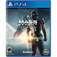 BRAND NEW Mass Effect: Andromeda Deluxe Edition (Sony PlayStation 4, 2017) PS4!!