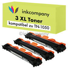 3 XXL TONER PATRONE für BROTHER TN1050 HL1112A HL1210W HL1212W MFC1810 MFC-1910