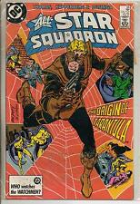 DC Comics All Star Squadron #66 February 1987 Origin Of Tarantula NM-