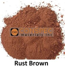 RUST BROWN Concrete Color Pigment Colorant Dye Cement Mortar Grout Plaster 1 LB