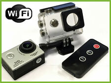 "Pro HD Waterproof Sports Action Cam Camera 1080P 2"" LCD Display + Wifi & Remote"