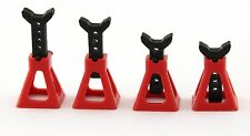 Holder Jack Stand Red For RC Car 1/10 1/16 on-road drift tamiya sakura mst