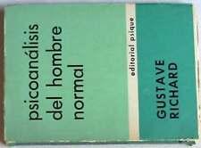 PSICOANÁLISIS DEL HOMBRE NORMAL - ARGENTINA 1967 - 205 PÁGINAS - VER ÍNDICE