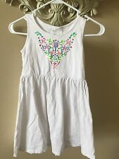 White Sleeveless DRESS 10 12 Large TCP FALL WINTER BTS SCHOOL Casual