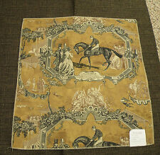 Wesley Hall Gladiateur Remnant Toile & C&C Mingled Upholstery Weight Fabric