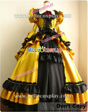 Vocaloid 2 Cosplay Daughter of Evil Kagamine Rin Yellow Dress H008