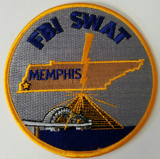 FBI Federal Bureau of Investigation SWAT Memphis Cloth Patch