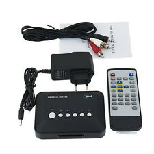 480p Media Center RM/RMVB/AVI/MPEG TV Player with USB and MMC Port F7