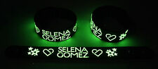 SELENA GOMEZ NEW! Glow in the Dark Rubber Bracelet Wristband  GG355