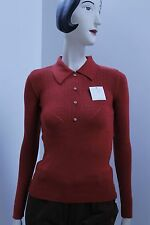 Pullover Maglia con Bottoni Rockabilly SWEATER 60s True Vintage 60er NOS