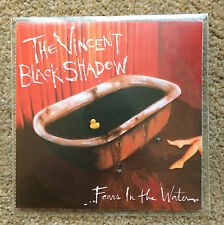 THE VINCENT BLACK SHADOW Fears In the Water 2006 PROMO CD Single Control