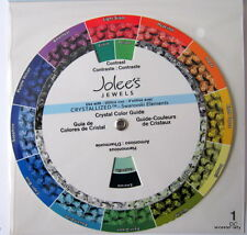 CRYSTAL COLOUR GUIDE (Wheel) - Use With CRYSTALLIZED - Swarovski Elements