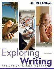 Exploring Writing: Paragraphs and Essays (3rd Revised edition) by John Langan 98