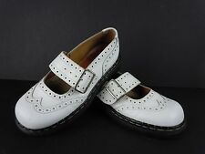 Womens TredAir English Made White Leather Mary Janes Shoes Size US Size 9