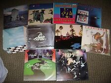 10 CLASSIC ROCK LP LOT-SKYNYRD-KISS-KINKS-ZZ TOP-BAD COMPANY-THE WHO-EAGLES-LPS