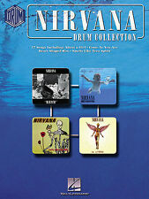 Nirvana Drum Collection Sheet Music Book Grohl Drums