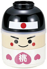 Japanese BENTO Lunch BOX Hakoya MOMOTARO Kawaii 50623, Imported Japan